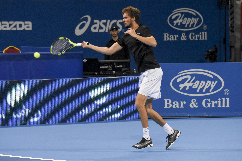 Александър Лазаров на полуфинал в Хърватия