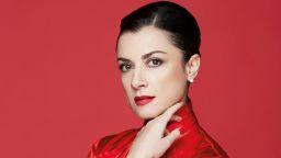 """Александрина Пендачанска като Виолета от """"Травиата"""" на сцената на зала 1"""