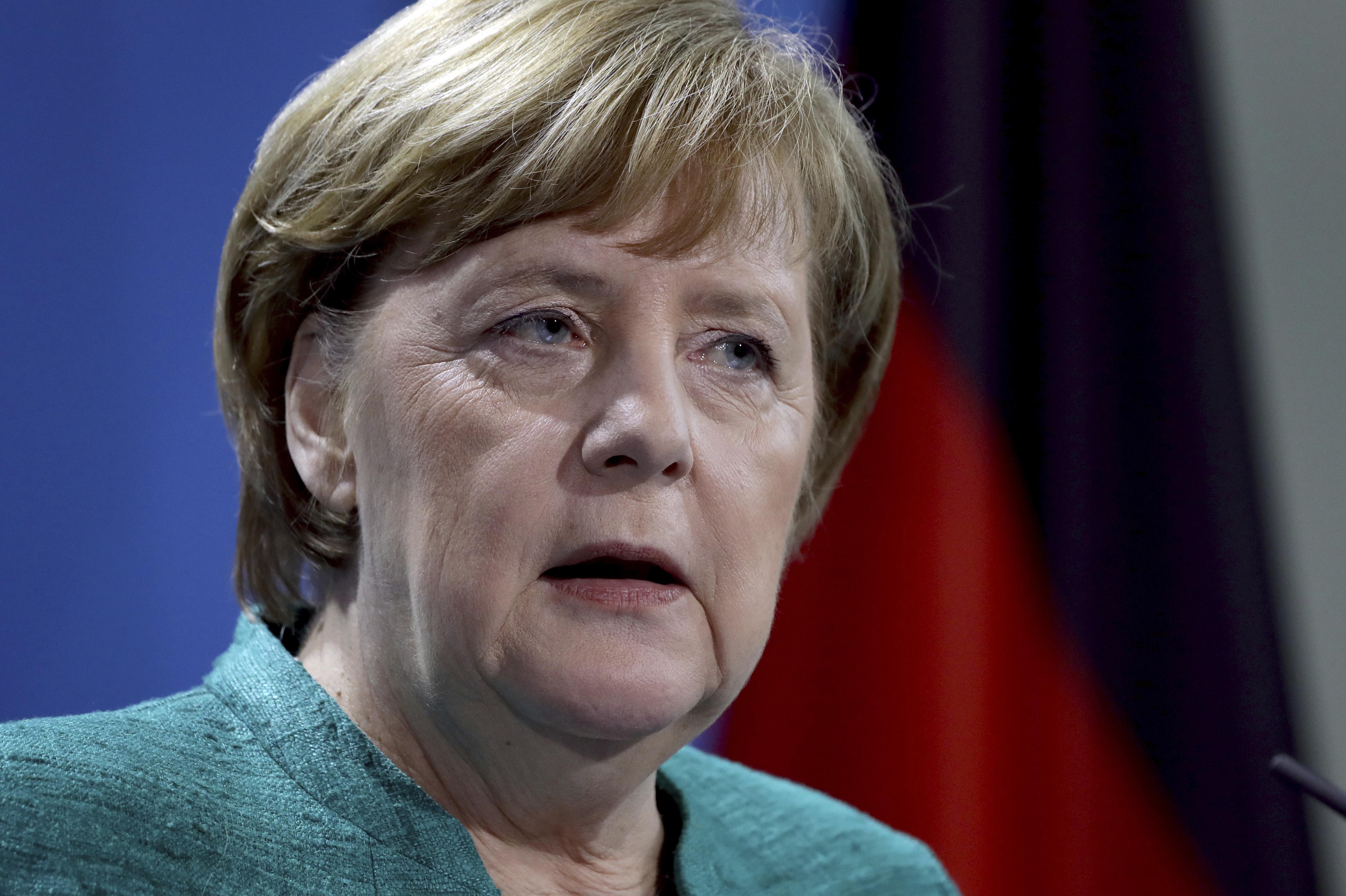 Меркел: Има доказателства за химически оръжия в Сирия