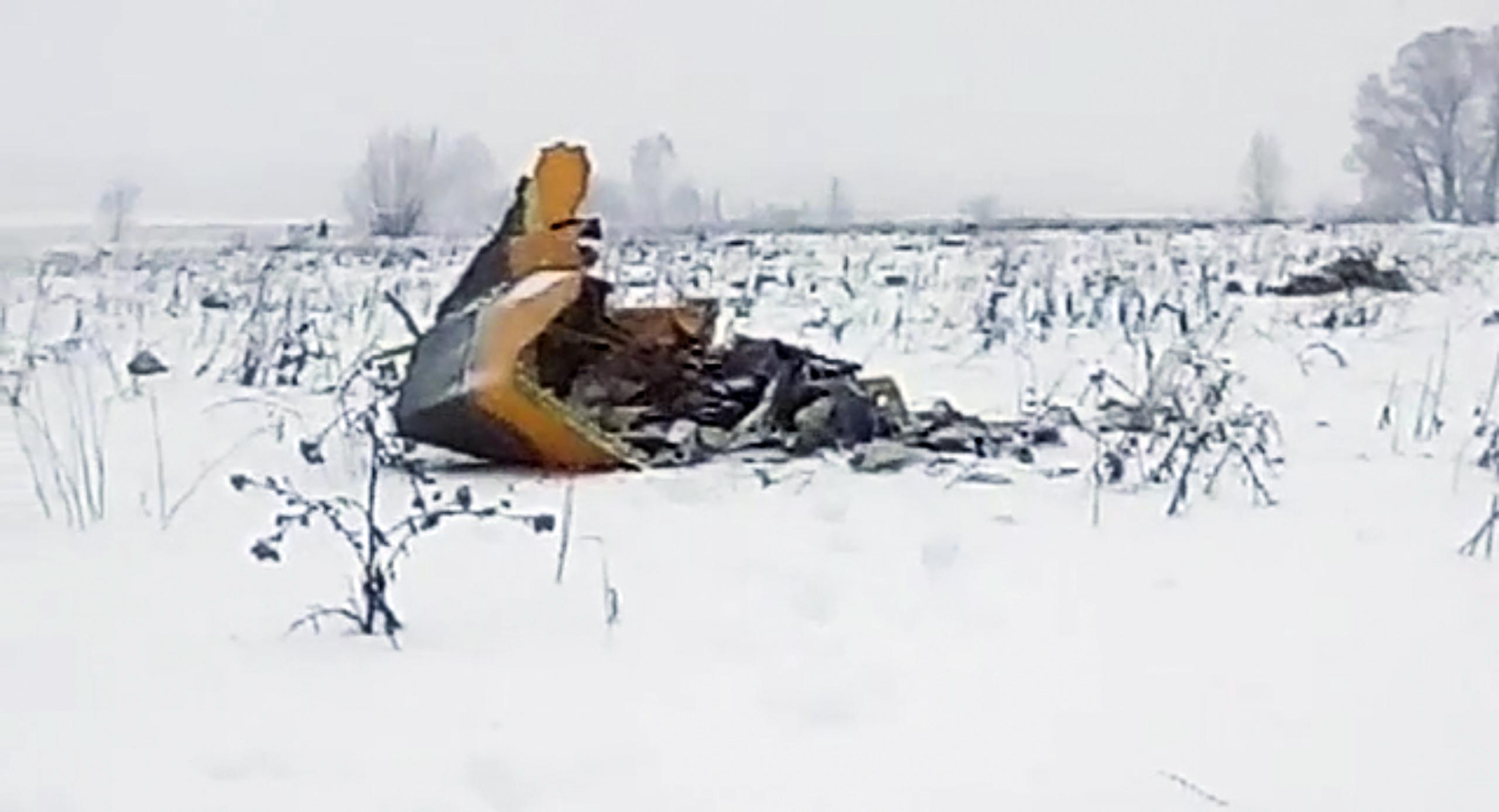 Москва обяви една от причините за самолетната катастрофа
