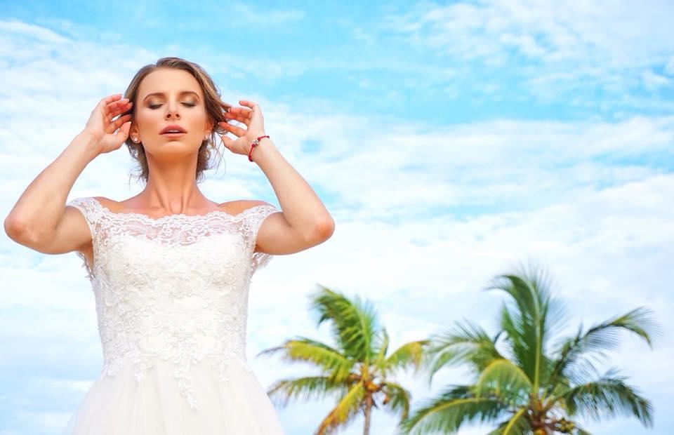 Вижте сватбената рокля на Сесил Каратанчева