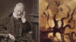 Знаете ли, че Виктор Юго е рисувал с утайка от кафе и... кръв?