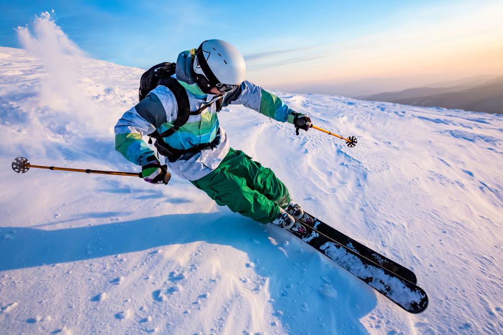 Добри условия за ски и нормални температури