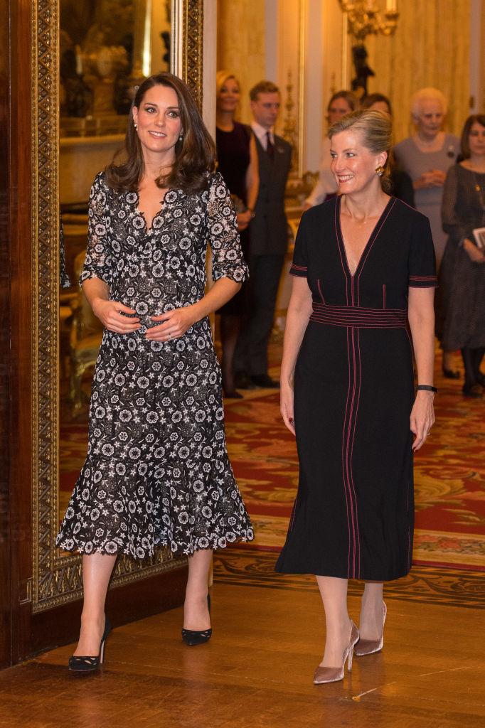 Катрин и Софи дадоха моден прием