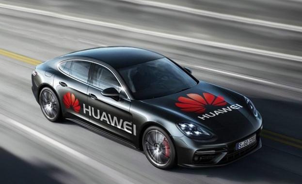 Движени от иновациите: Huawei демонстрира първата кола, която се управлява от смартфон с изкуствен интелект