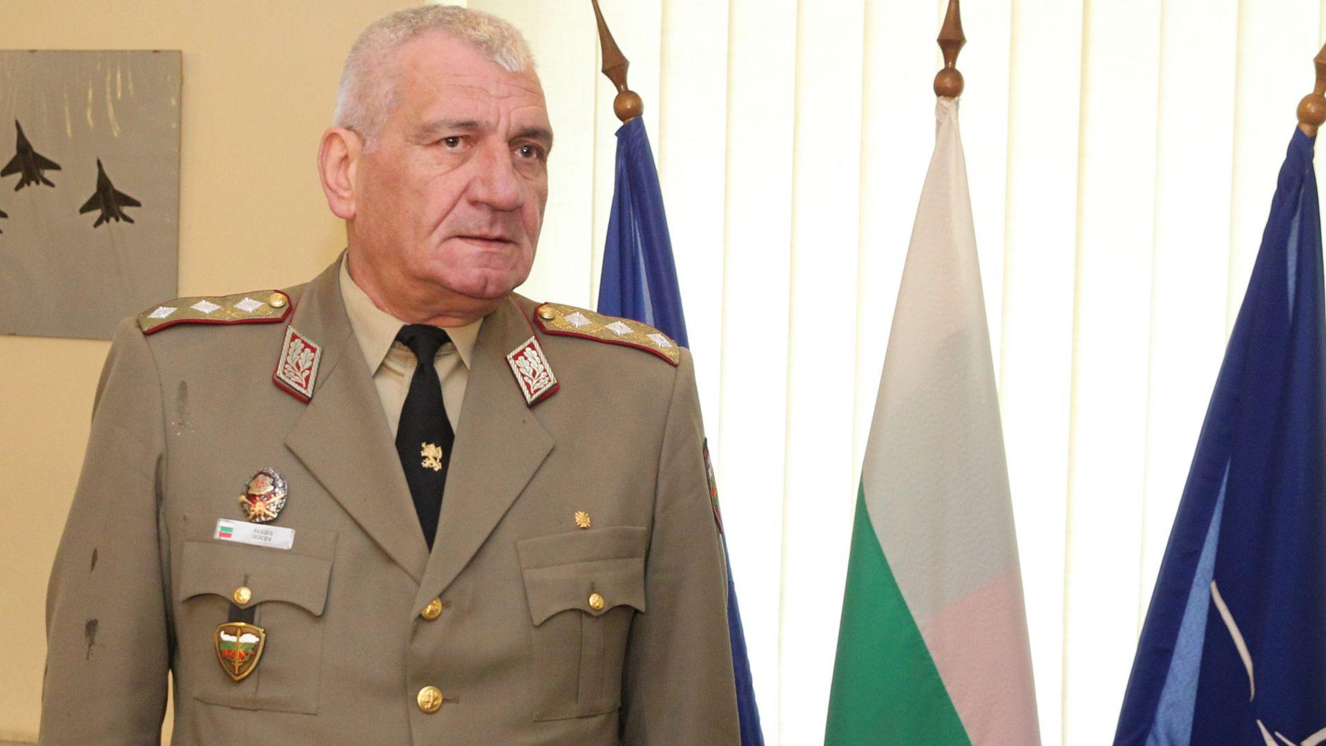 Началникът на отбраната ген. Андрей Боцев е починал днес на