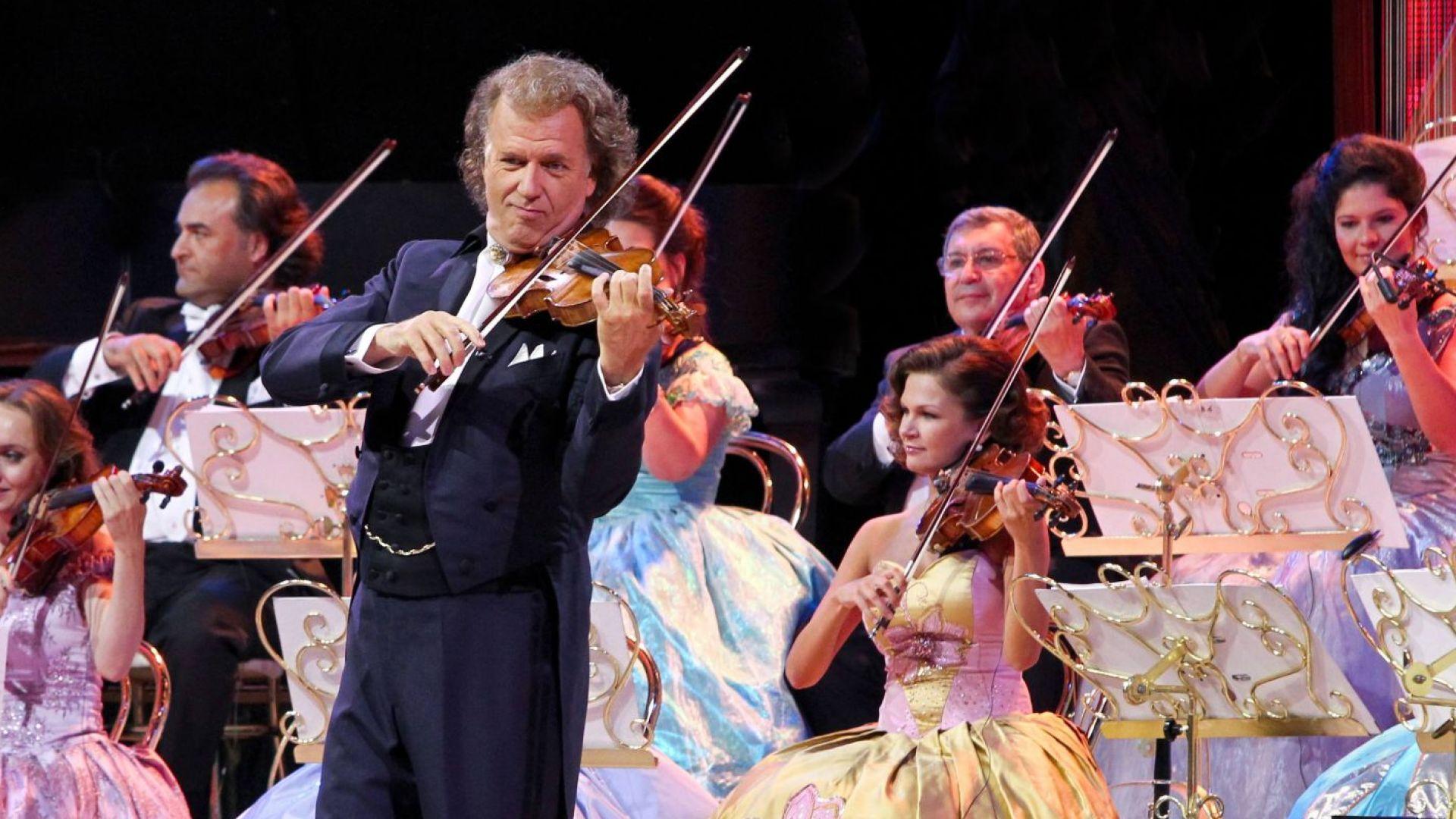Пуснаха допълнителни билети за концертите на легендарния Андре Рийо в София