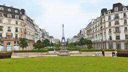 """Китайците """"изкопираха"""" Париж, а не искат да живеят в него"""