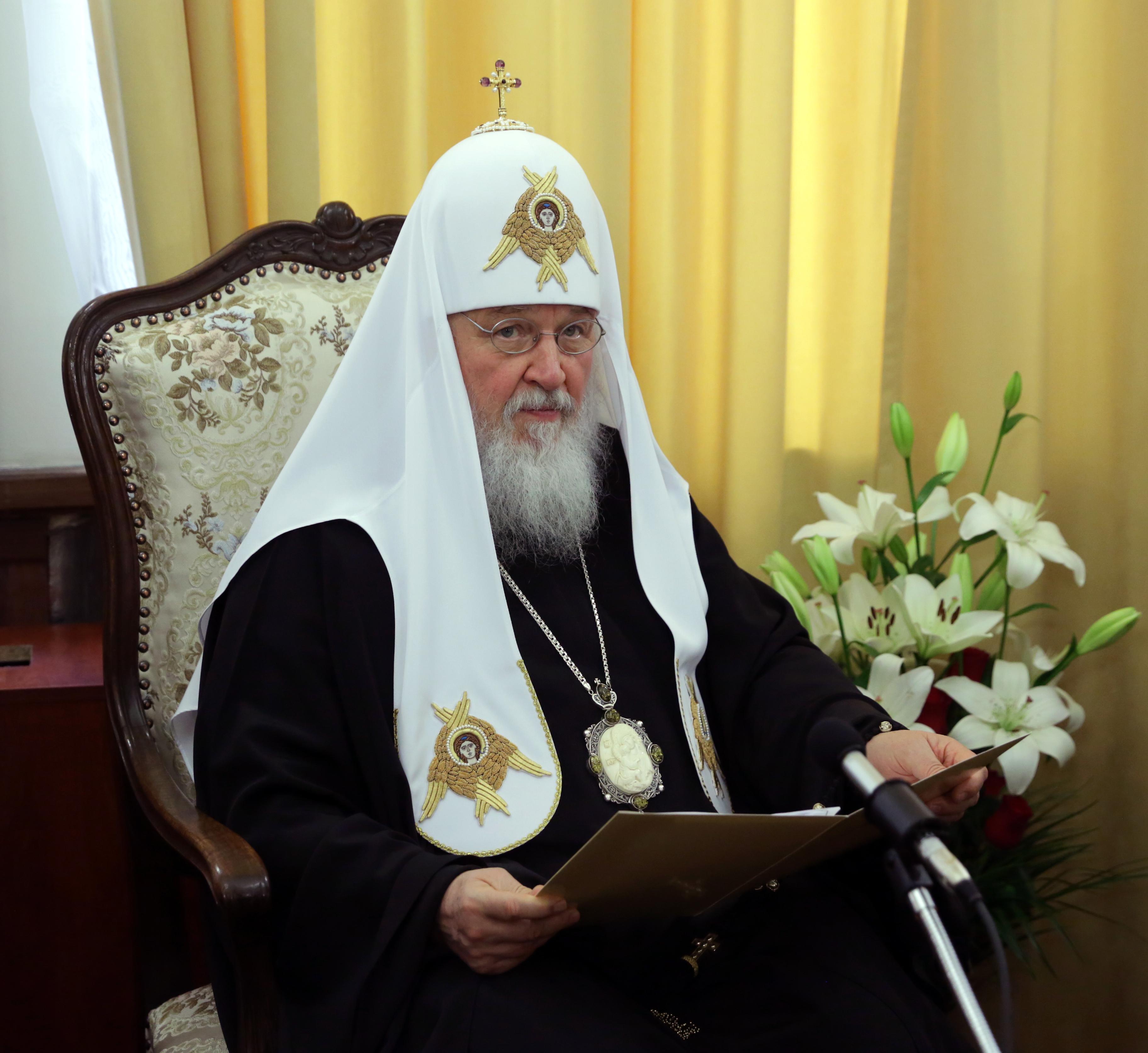Патриарх Кирил: Чрез българите русите са получили езика си