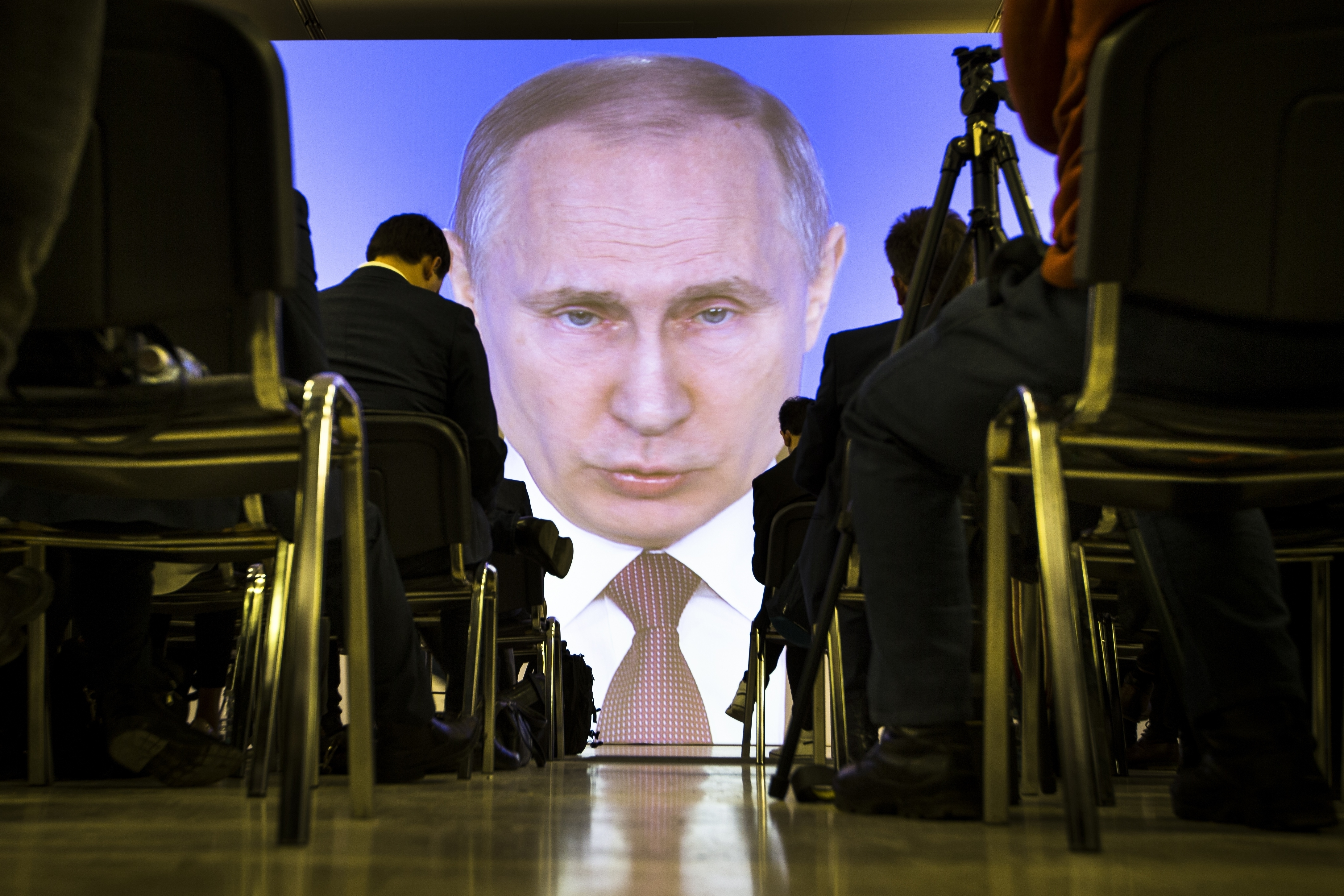 """""""Ню Йорк таймс"""": Путин - най-влиятелният човек в света"""