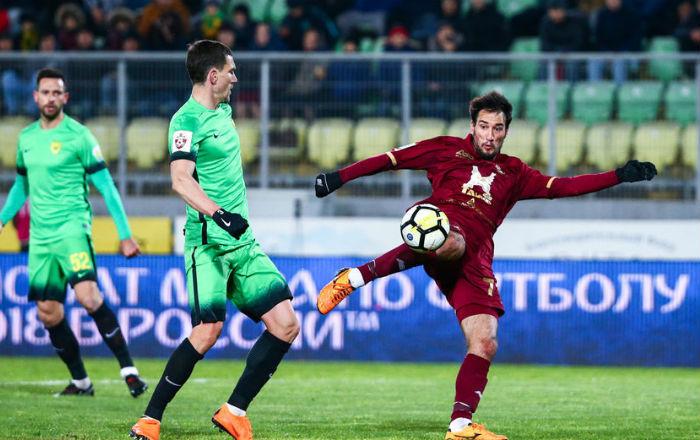 Два гола на Ивелин Попов донесоха успех на Рубин