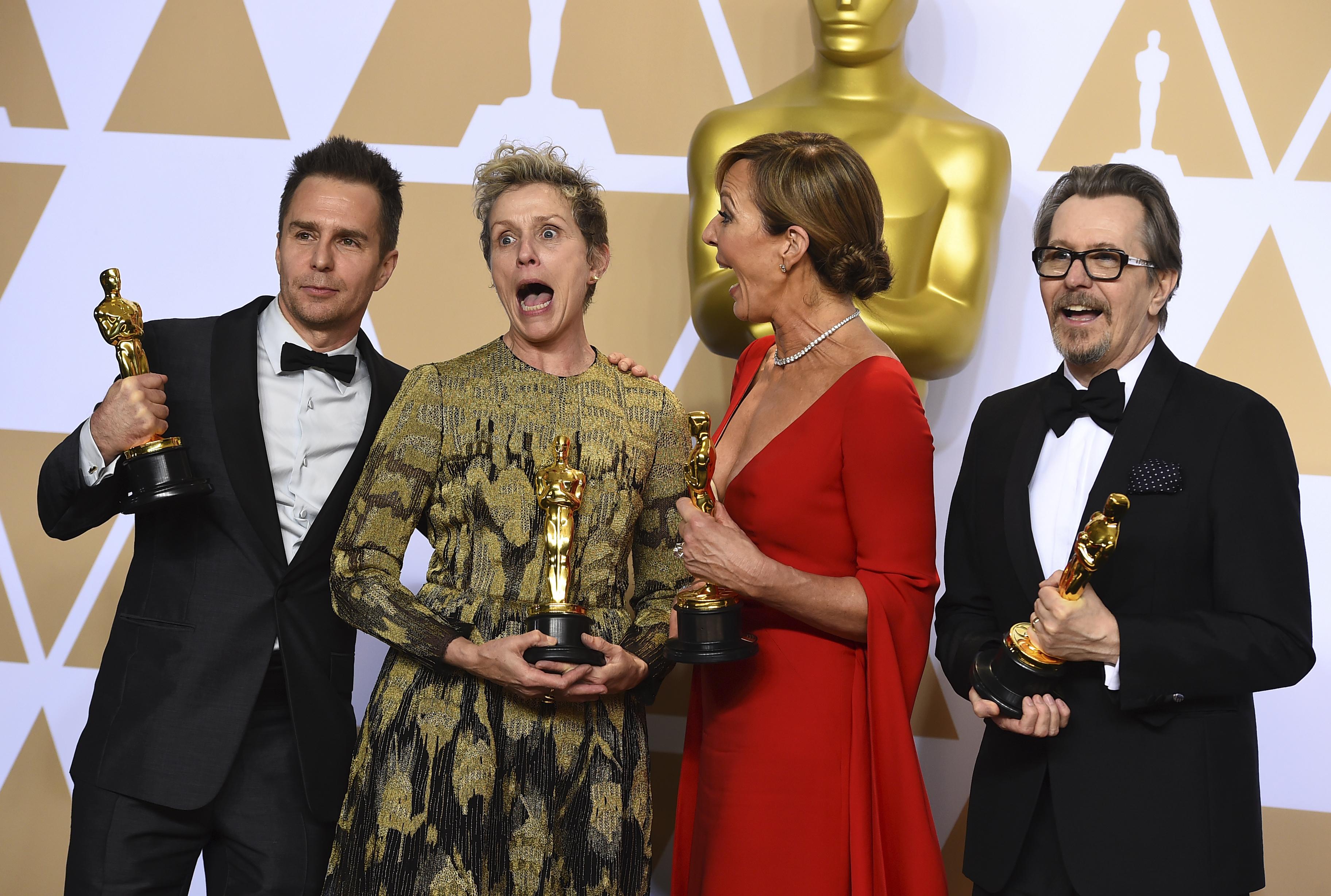 Оскарите с рекордно нисък брой зрители