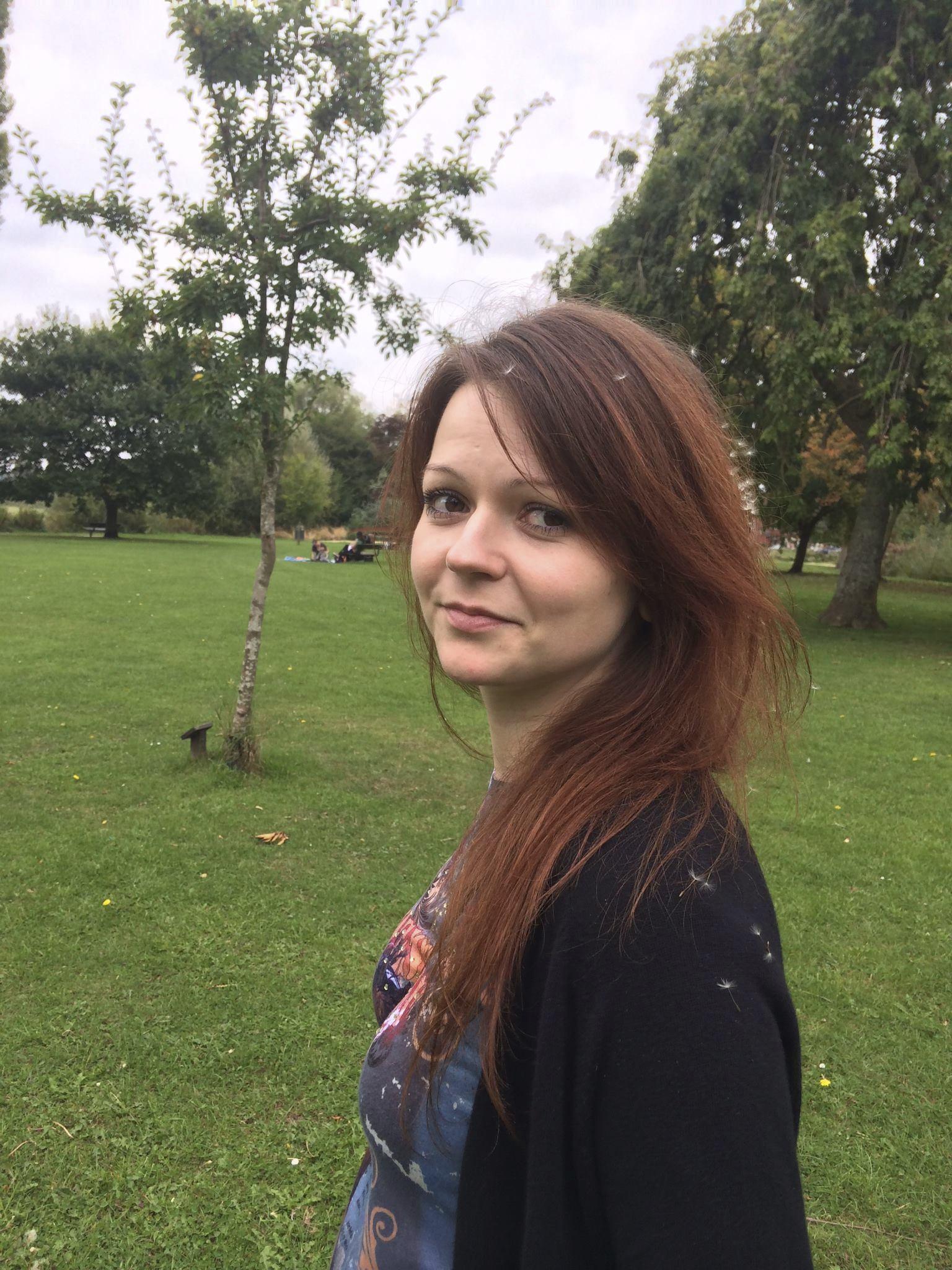 Скриха Юлия Скрипал във военна база