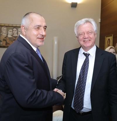 Борисов: Ще запазим близките отношения с Великобритания