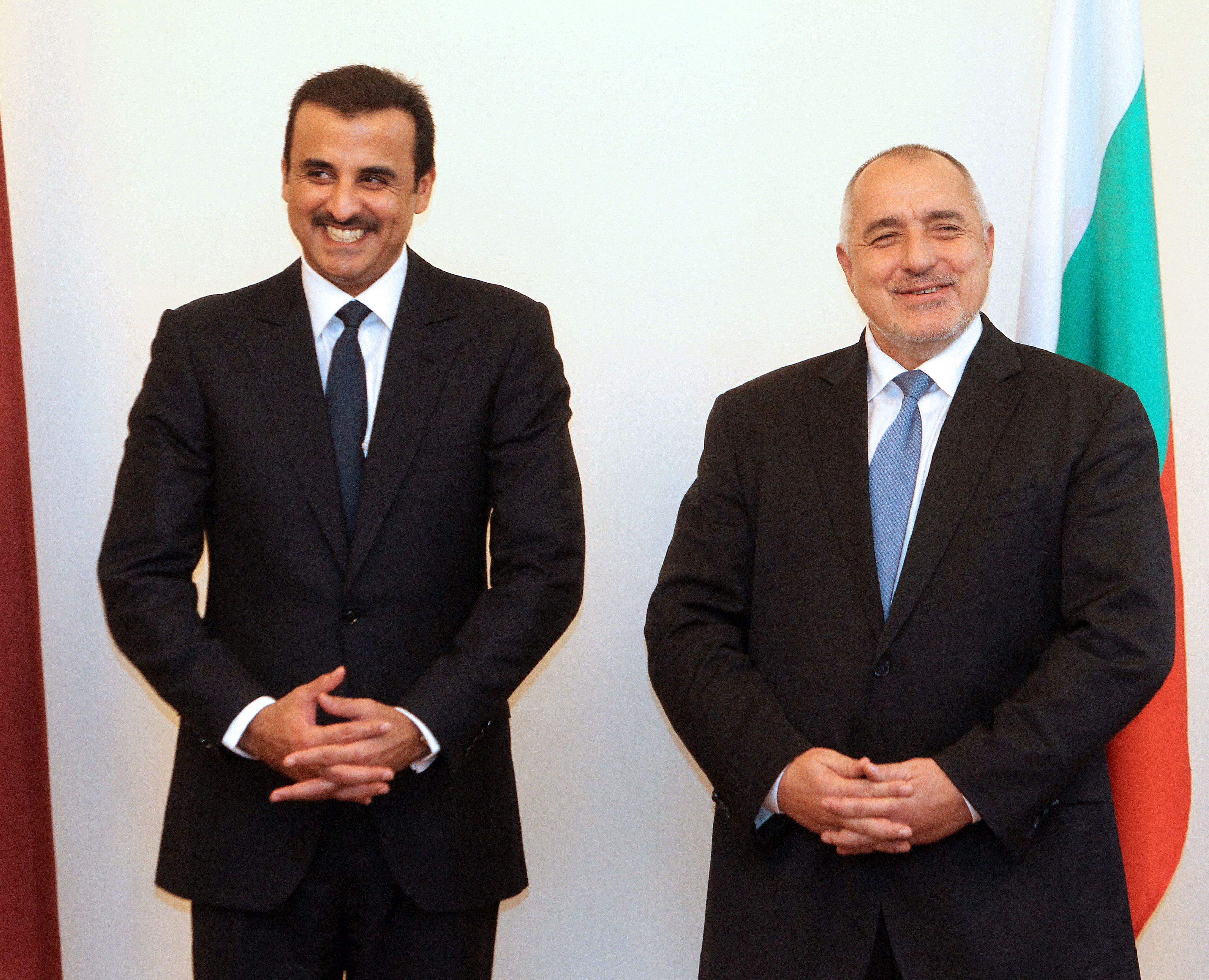 Борисов и емирът на Катар: Да работим за повече инвестиции