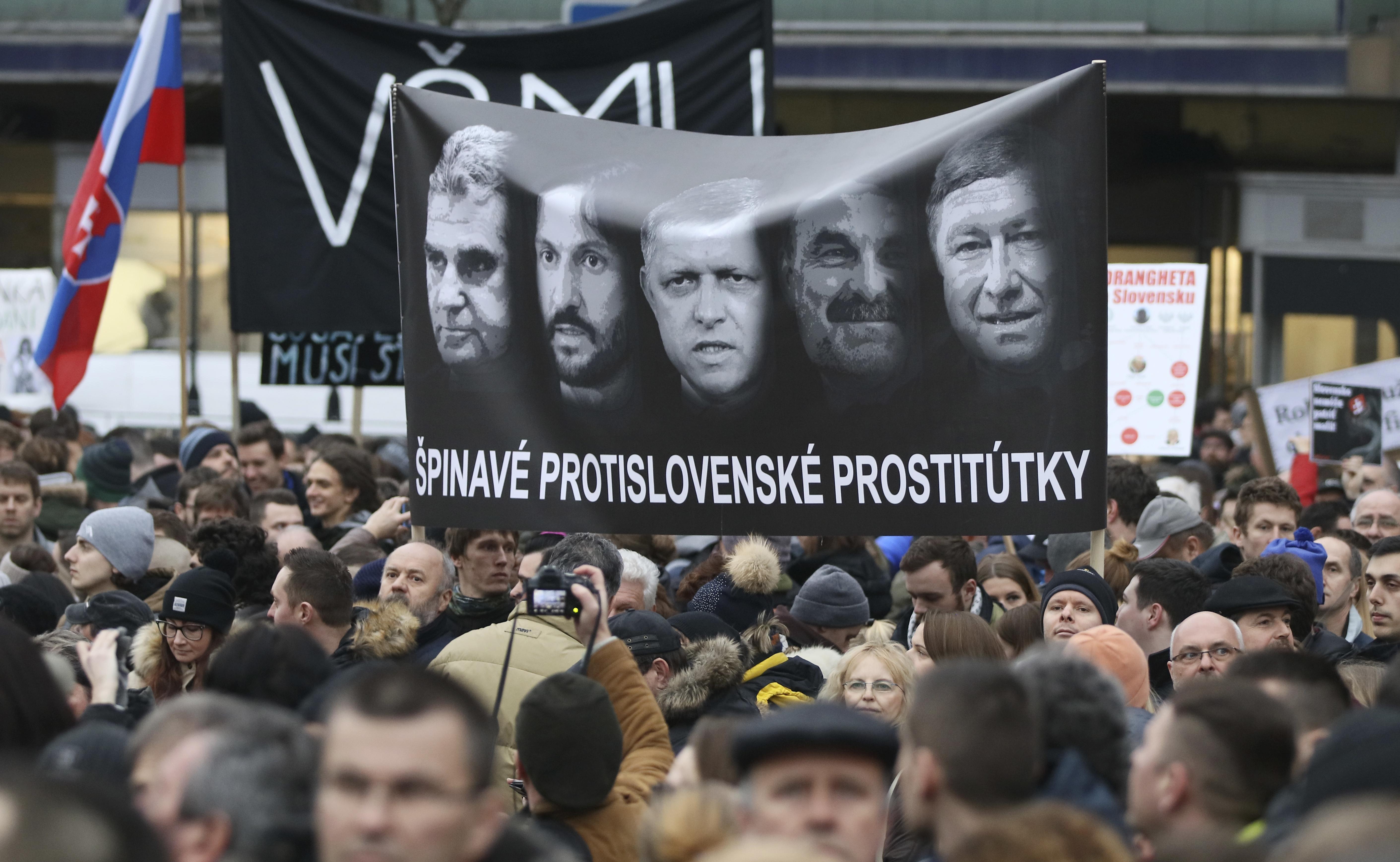 Словакия - от стабилност към хаос след смъртта на журналист