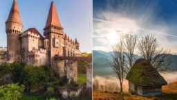 Мистични фотопейзажи от родината на Дракула