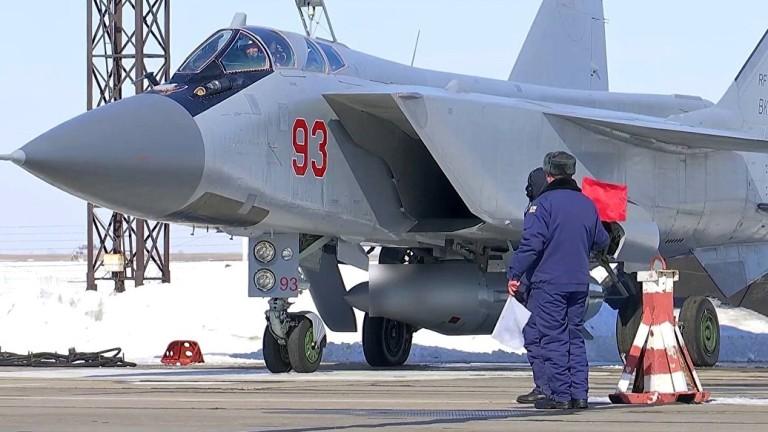 Русия е изпитала успешно нова свръхзвукова ракета