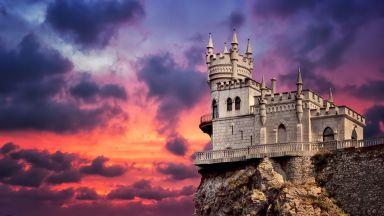 Кримски готически замък с драматична история