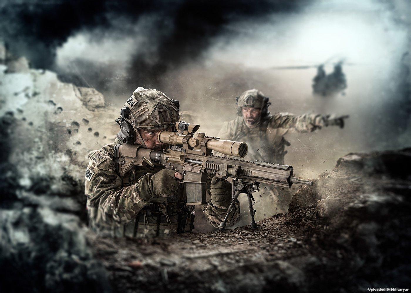 САЩ заменят М14 с немска снайперска винтовка