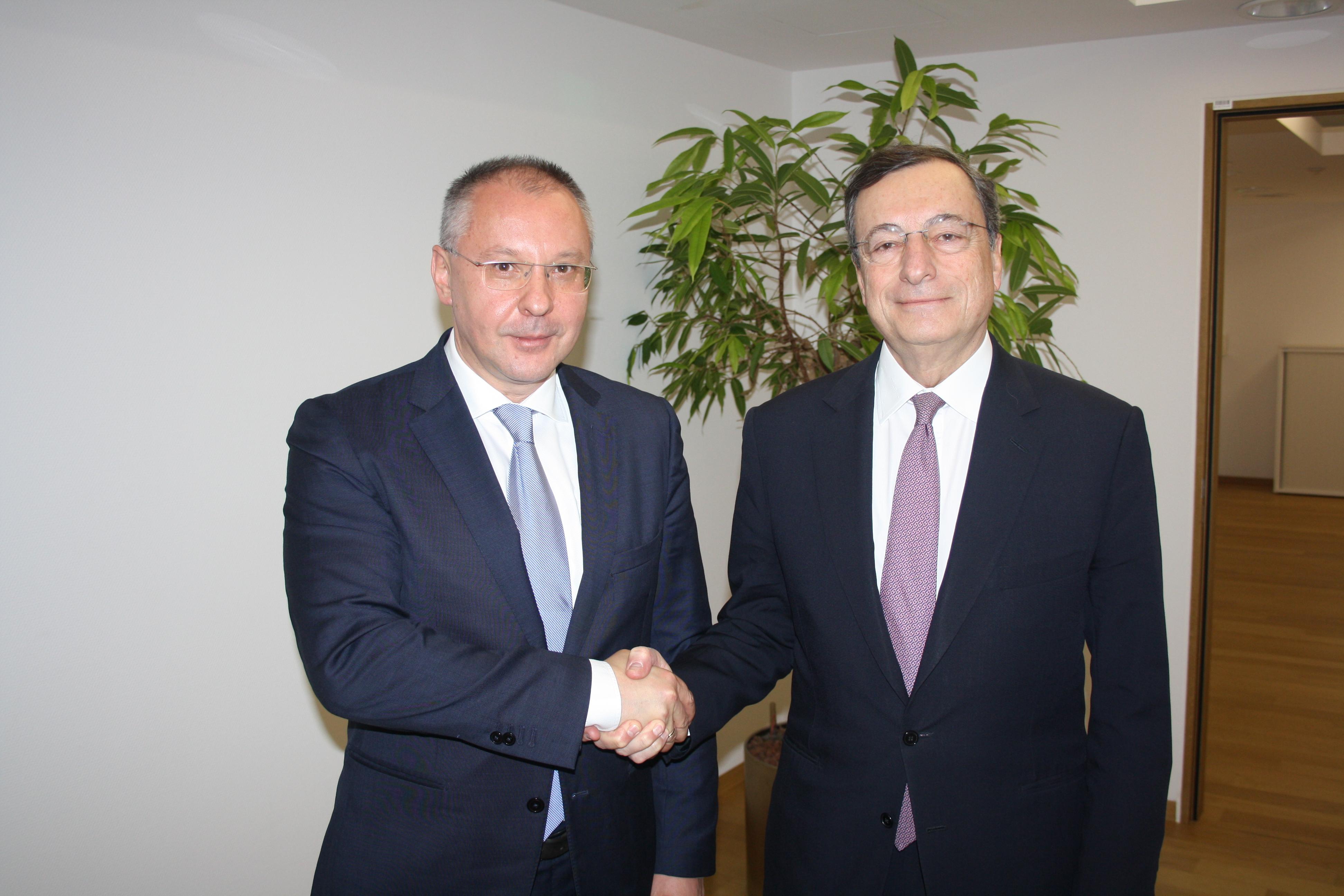 Драги: Гледаме позитивно на желанието на България за ERM II