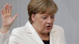 Меркел призова момичетата да учат математика и физика