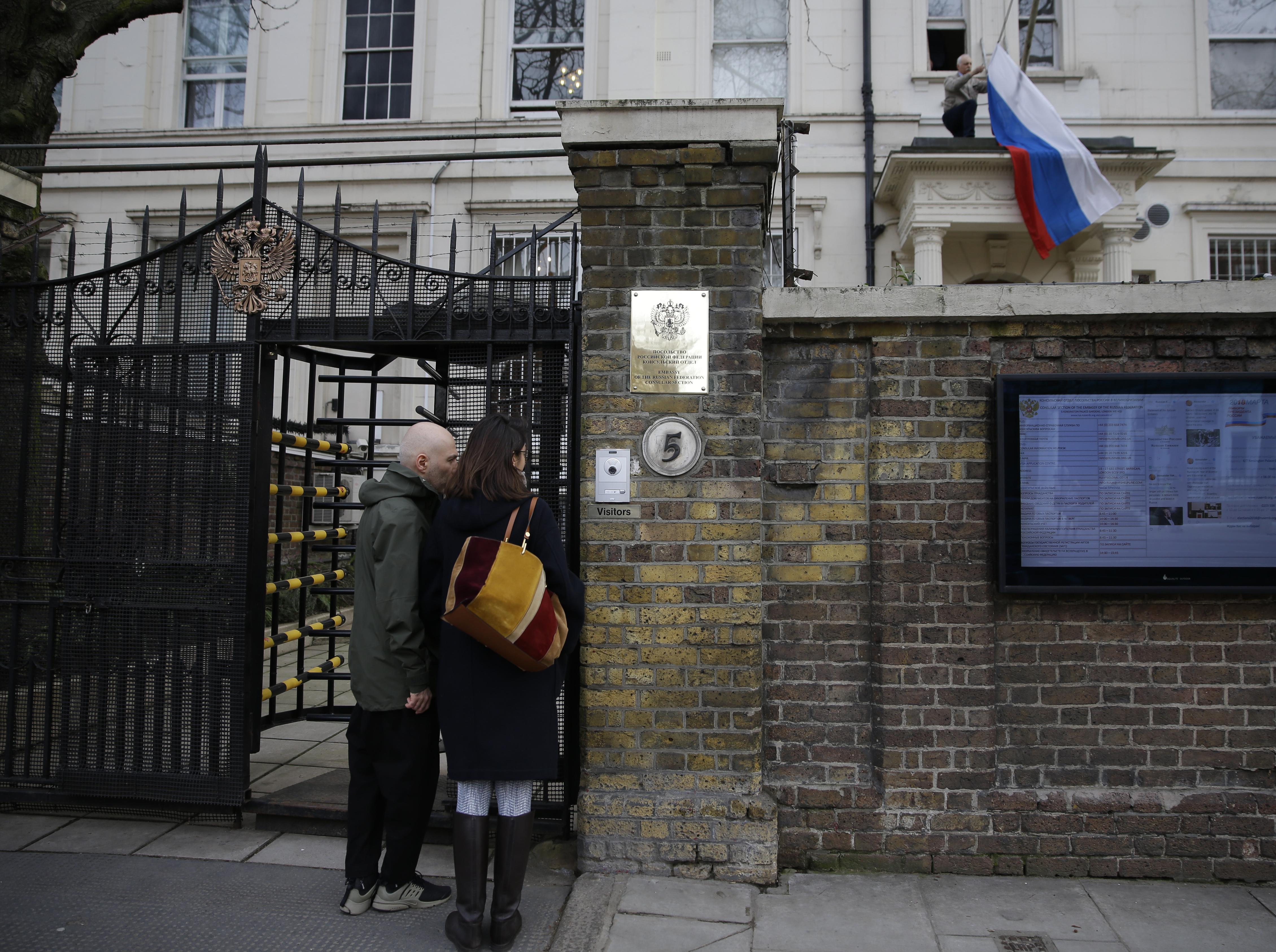 От Русия: Лондон избра конфронтация с Москва