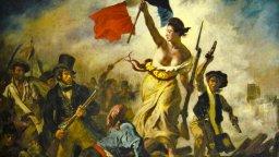 "Фейсбук цензурира голия бюст в картината ""Свободата води народа"" на Йожен Дьолакроа"