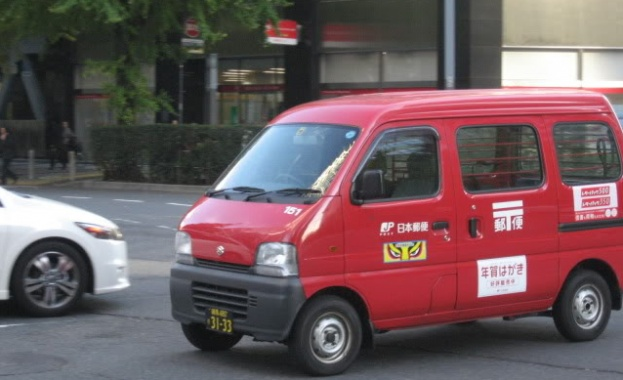 В Токио изпробват безпилотна кола-пощальон