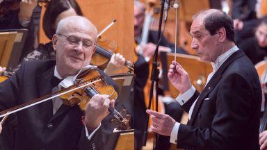 Блестящият цигулар Минчо Минчев  се завръща в зала 1 на НДК