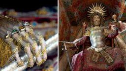 """Църкви съхраняват """"украсени"""" скелети"""