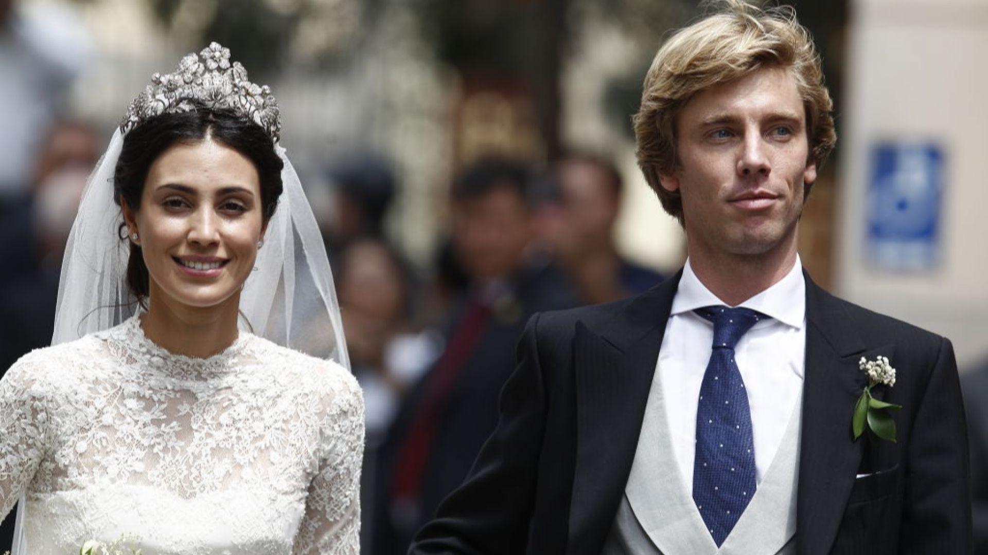 Хановерският принц Кристиян и Алесандра де Осма