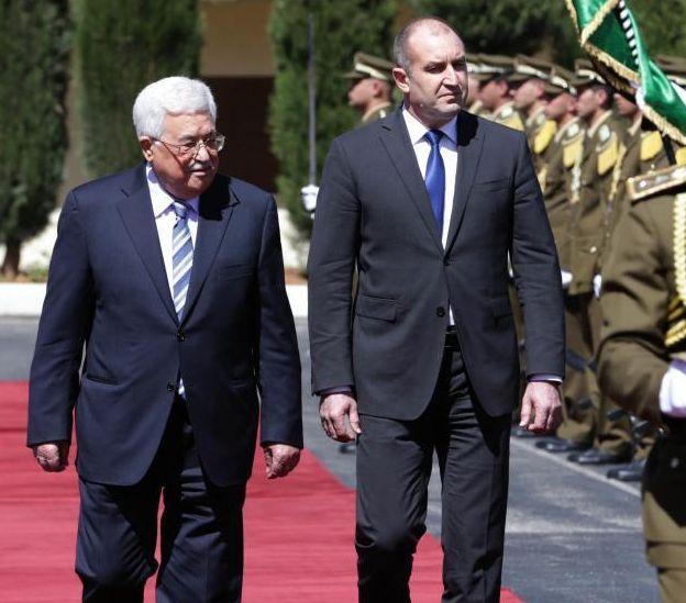 Радев предаде в Палестина послание от Израел
