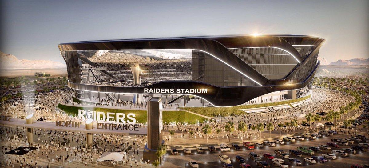 Лас Вегас строи златен стадион за $1,9 милиарда