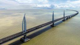 В Китай построиха най-дългия морски мост в света
