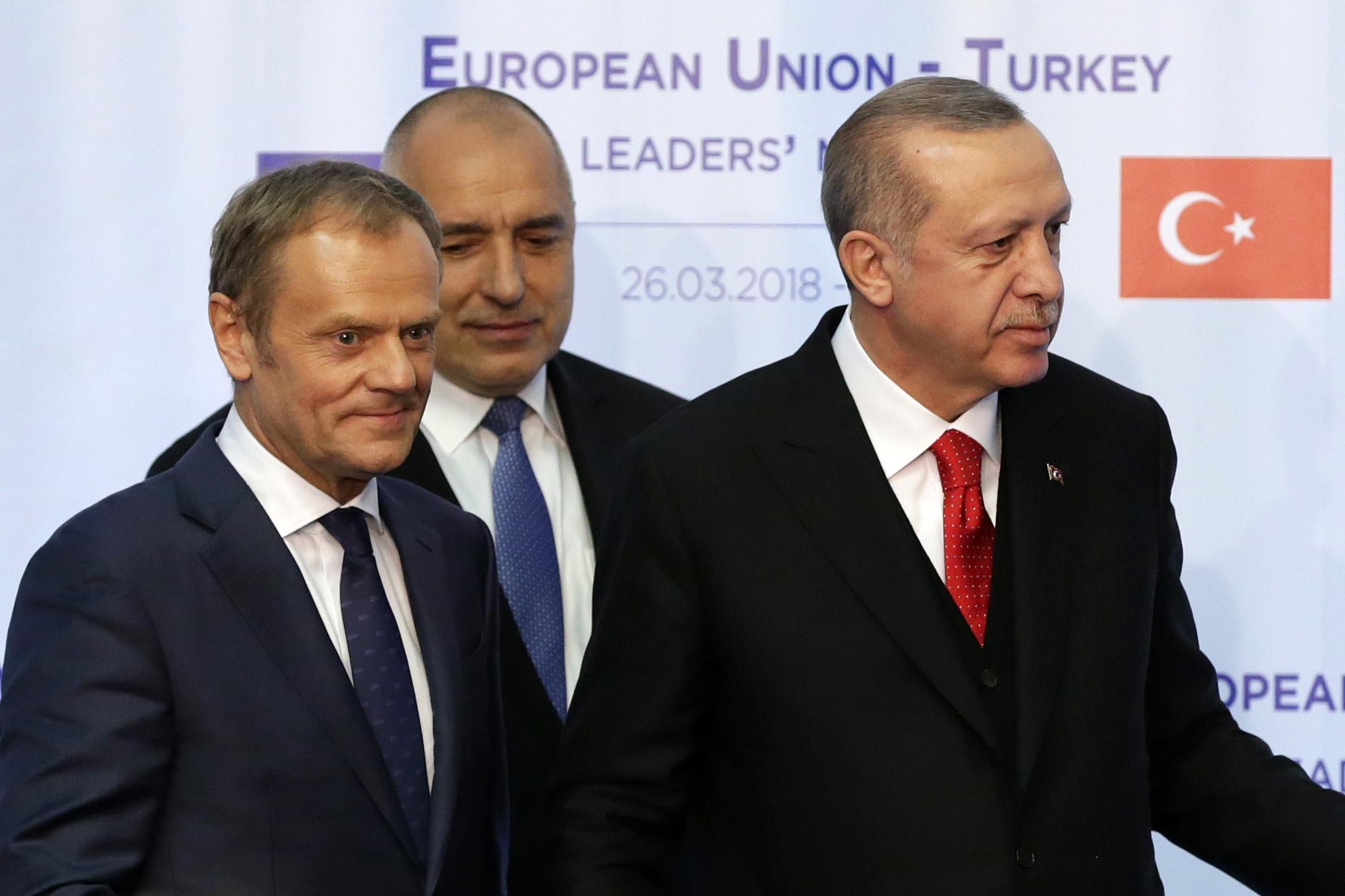 Ердоган настоятелен: Искам визи, членство и пари