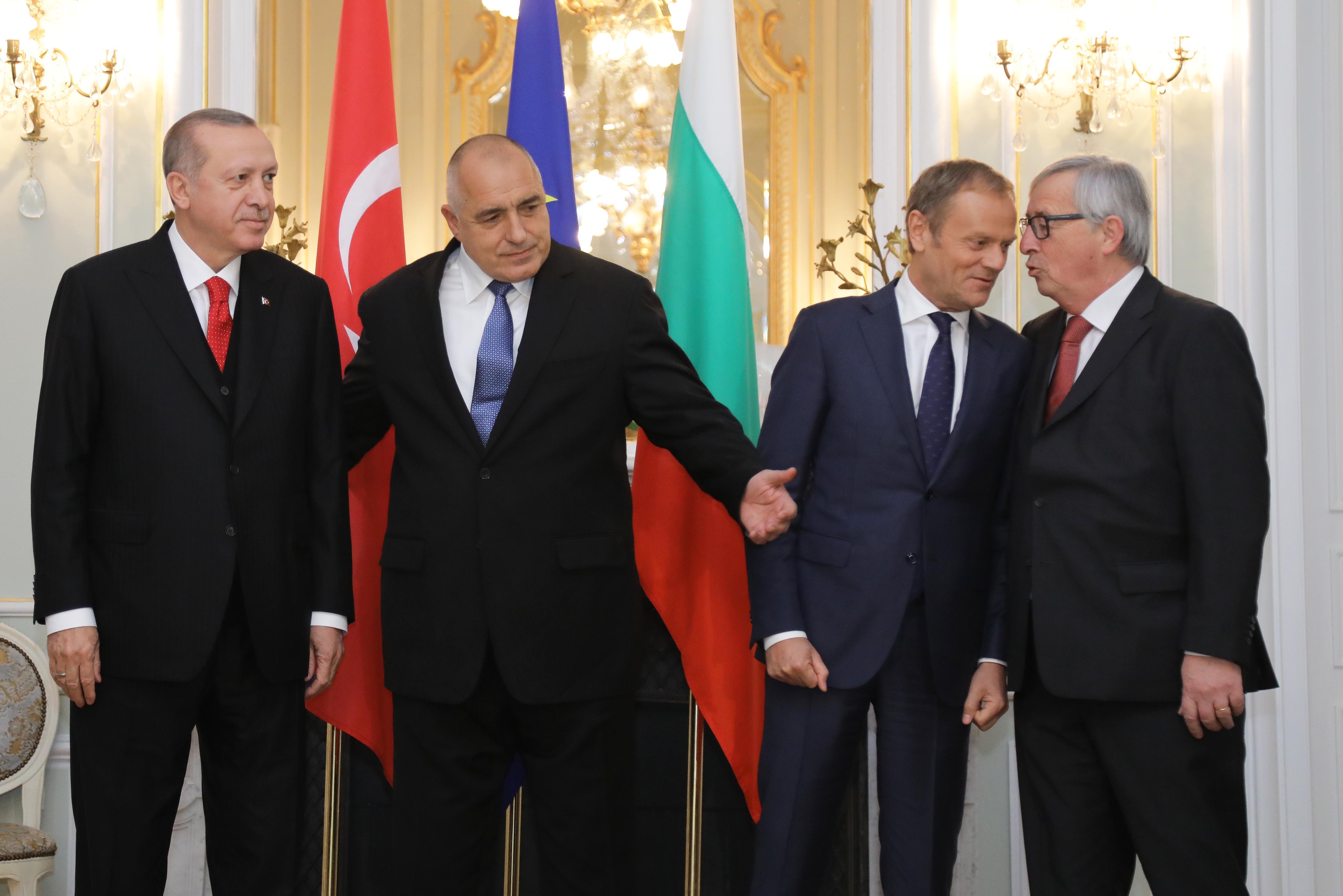 Борисов: Дадох нашите претенции на Ердоган, те също имат