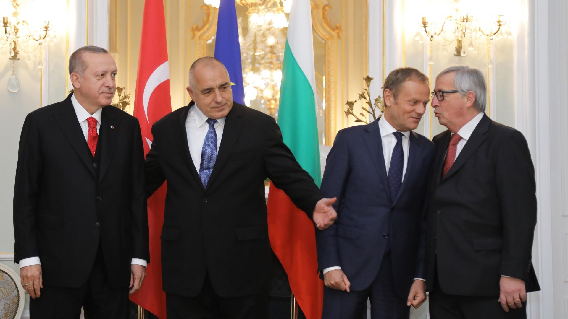 Ердоган благодари на Борисов за срещата ЕС-Турция