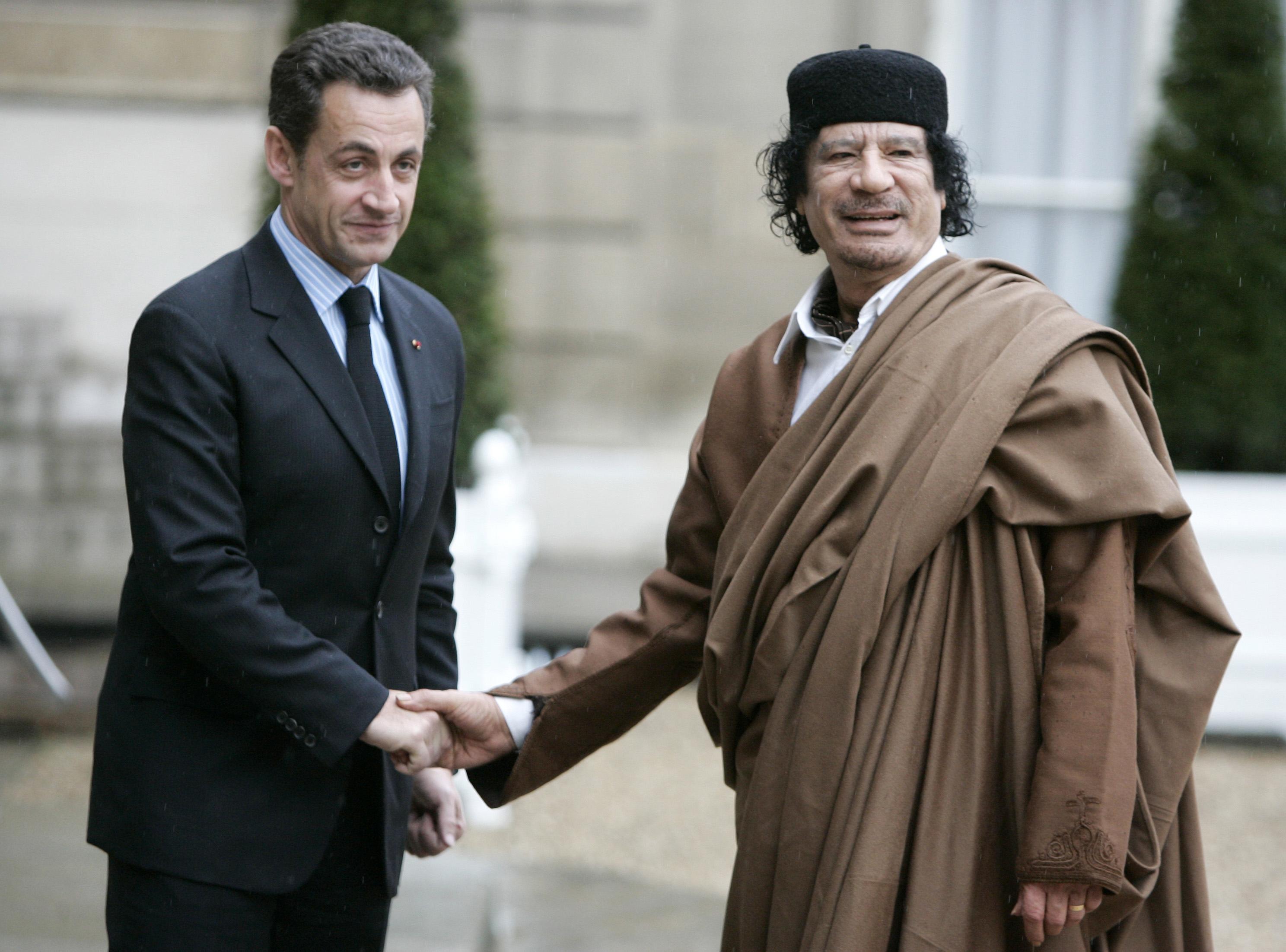 Франция и Либия при Саркози: от приятелство до война