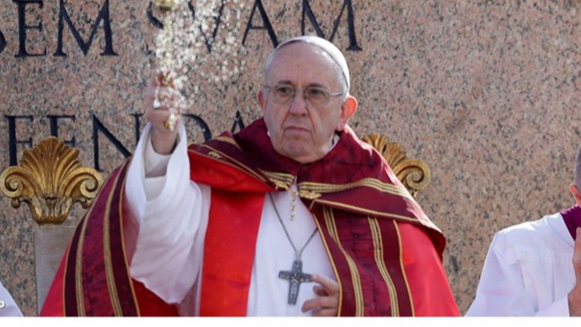 Папата изрази безпокойство за Сирия
