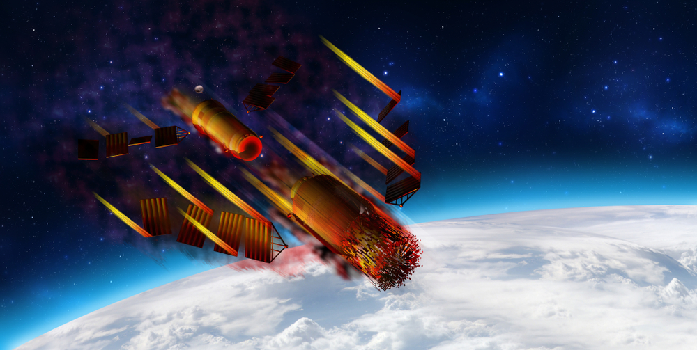 """Тянгун-1"" изгоря над Тихия океан"