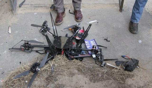Първият дрон на руските пощи се разби