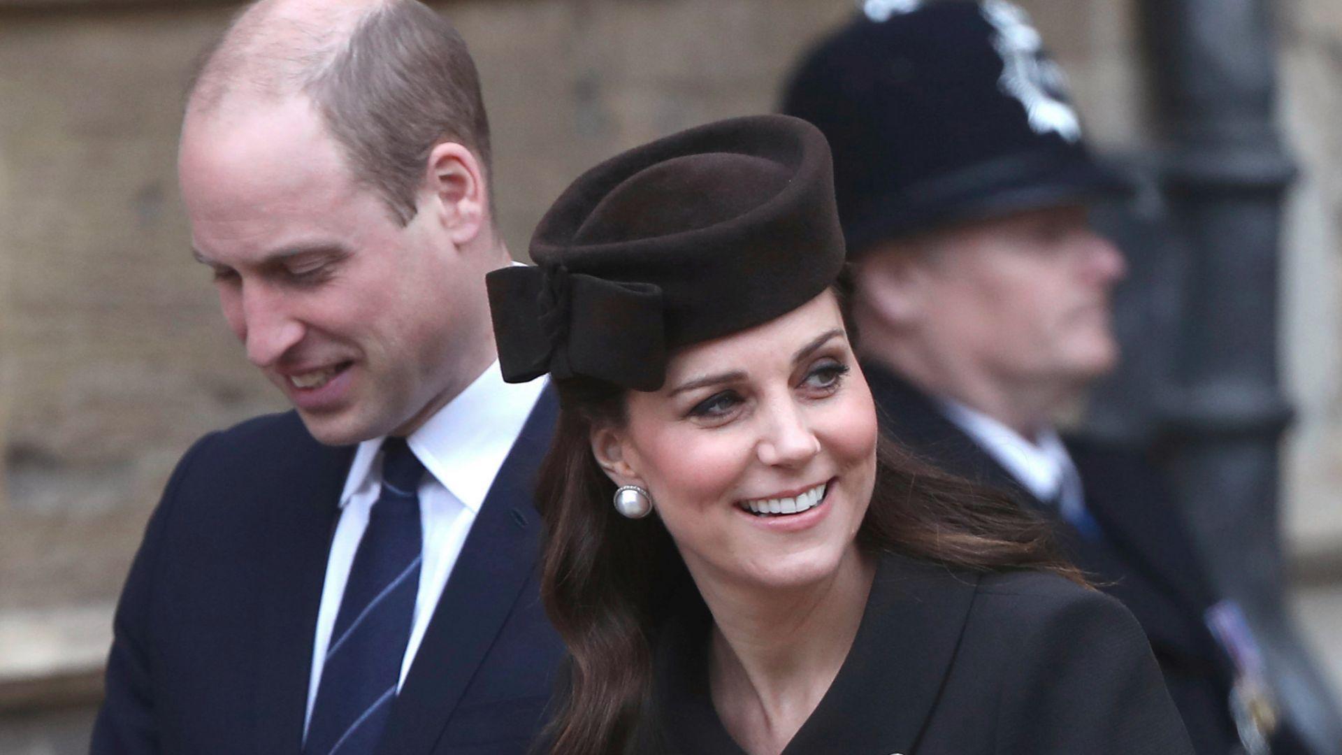 Принц Уилям разкри пола на бебето