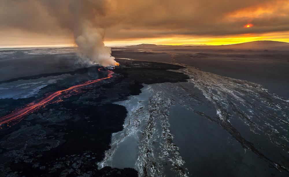 Вулкан е обърнал Исландия към християнството