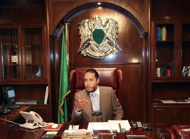 Син на Кадафи оправдан за убийство на футболен треньор