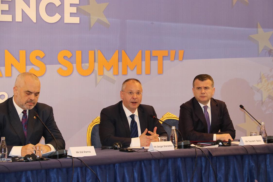 Станишев:2025 г. страните от Западните Балкани влизат в ЕС