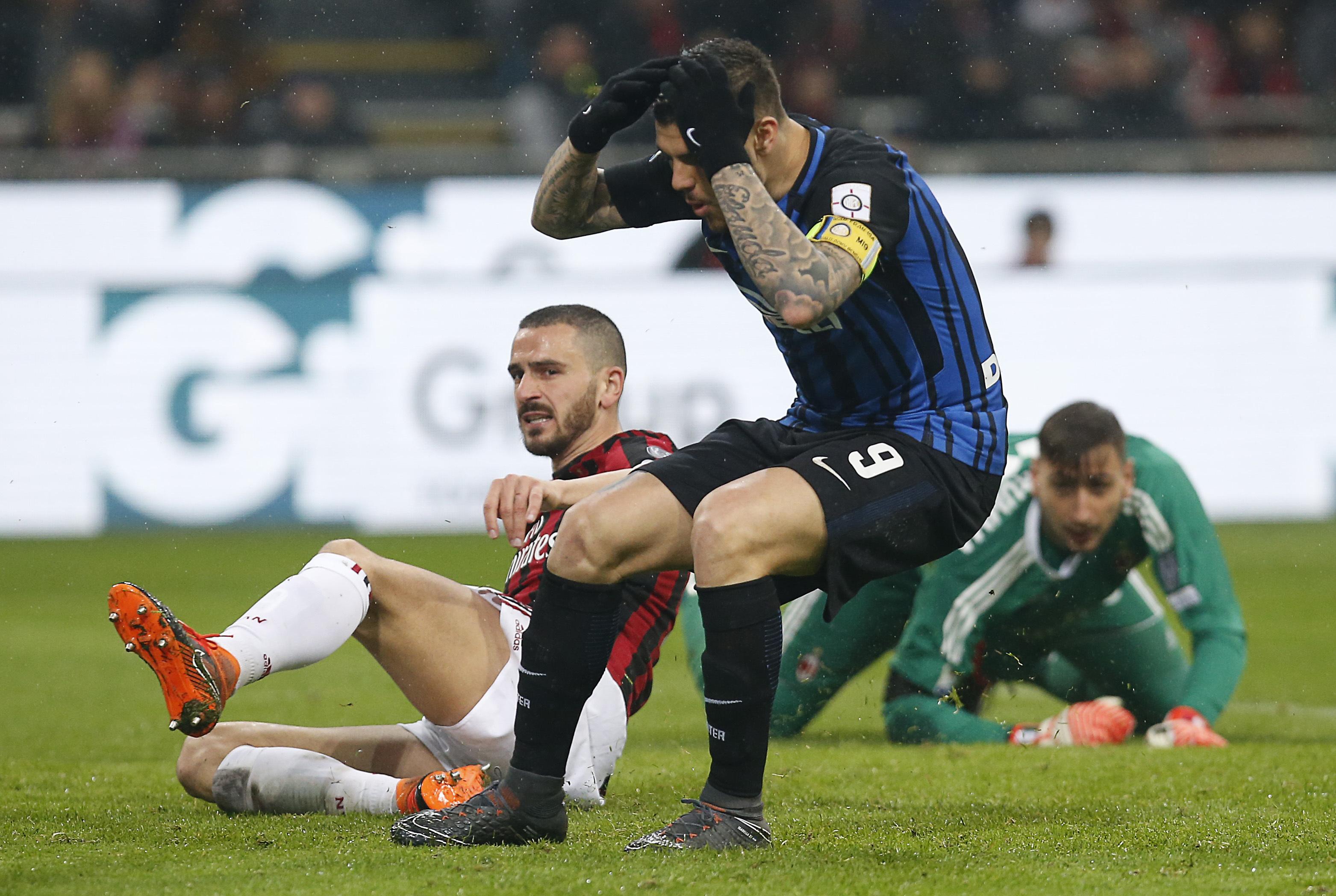 Пропуски, отменени голове и две нули в Милано