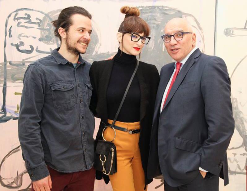 Деси Тенекеджиева откри изложбата на Руди Нинов