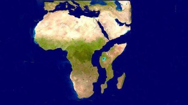 Огромен разлом може да разцепи Африка (Видео)