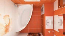 Кралско усещане в баня от няколко кв. метра